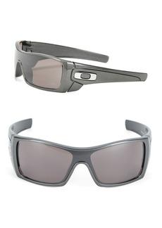 Oakley Batwolf 64mm Polarized Sheild Sunglasses