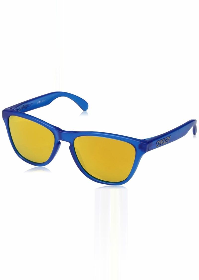Oakley Boys' Frogskins Xs Non-Polarized Iridium Round Sunglasses  53.0 mm
