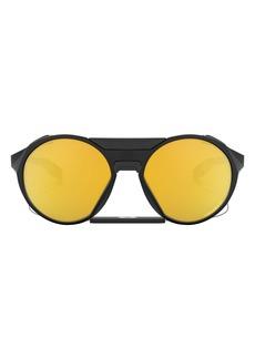 Oakley Clifden 59mm Mirrored Polarized Sunglasses