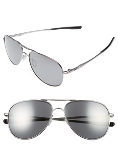 Oakley Elmont 58mm Polarized Aviator Sunglasses