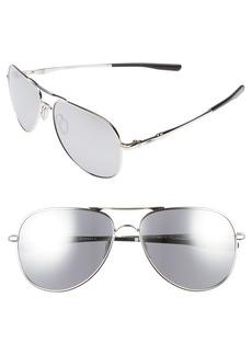 Oakley Elmont 60mm Aviator Sunglasses
