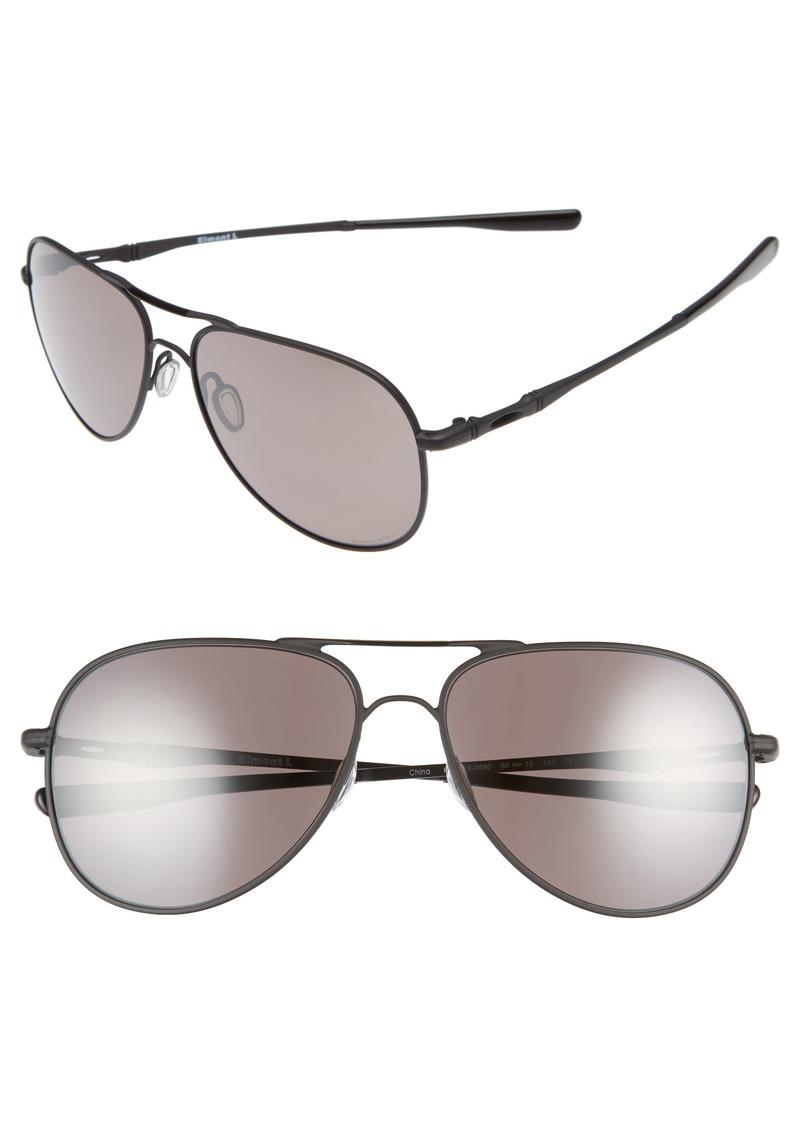 f3f751e103b Oakley Oakley Elmont 60mm Polarized Aviator Sunglasses