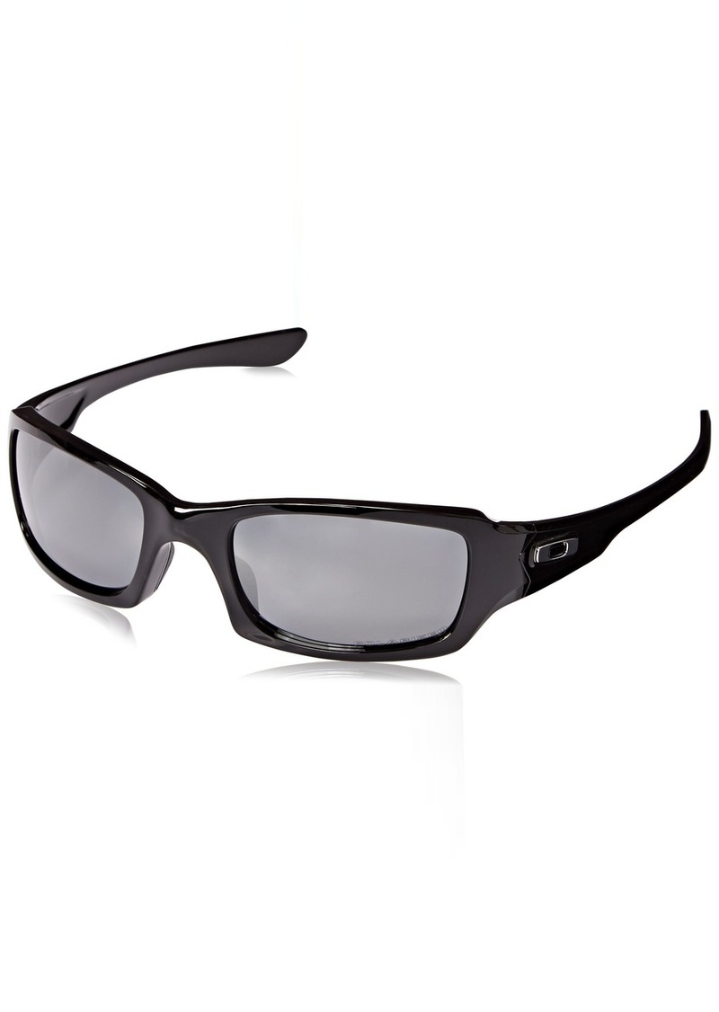 Oakley Fives Squared OO9238 Sunglasses - 06 Polished  ( Iridium Polarized Lens) - 54mm