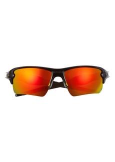 Oakley Flak 2.0 XL 59mm Polarized Sport Wrap Sunglasses
