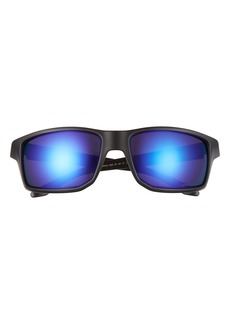 Oakley Gibston 61mm Polarized Wrap Sunglasses