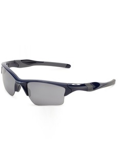 Oakley Half Jacket 2.0 XL OO9154-24 Iridium Sport SunglassesPolished Navy/Black Iridium55 mm