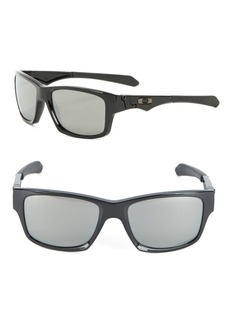 Oakley Jupiter Squared 56mm Polarized Rectangular Sunglasses