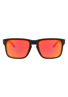 Oakley Kanas City Chiefs Holbrook 57mm Polarized Square Sunglasses