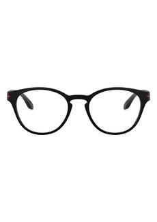 Oakley Kids' Round Off 48mm Round Optical Glasses