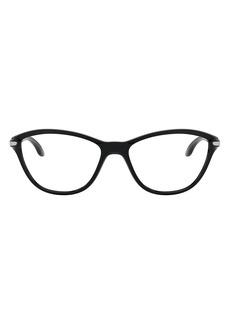 Oakley Kids' Twin Tail 50mm Cat Eye Optical Glasses (Kids)