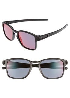 Oakley Latch 52mm Rectangular Sunglasses