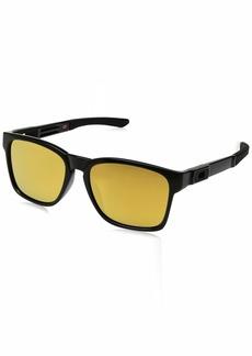 Oakley Men's Catalyst OO9272-04 Non-Polarized Iridium Square Sunglasses  56 mm
