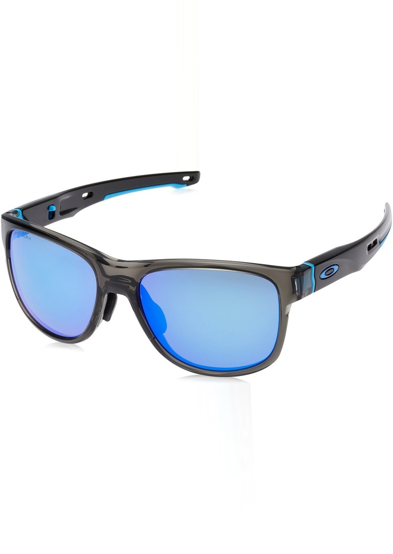 3ed972f7a2 Men s Crossrange R (a) Polarized Iridium Square Sunglasses. Oakley