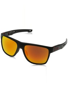 Oakley Men's Crossrange XL Non-Polarized Iridium Square Sunglasses  58.0 mm