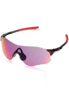 Oakley Men's Evzero Path Non-Polarized Iridium Rectangular Sunglasses  38 mm