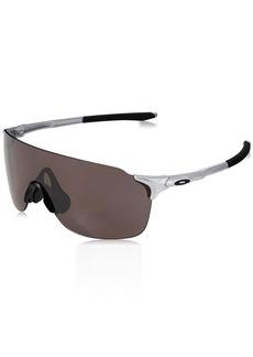 Oakley Men's Evzero Stride (a) Polarized Iridium Rectangular Sunglasses