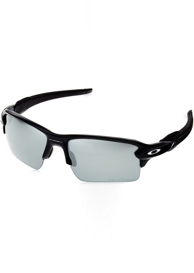 8f9793d032e Men s Flak 2.0 Xl OO9188 Polarized Iridium Sunglasses Matte Black w Black  Iridium Polarized 59 mm. Oakley