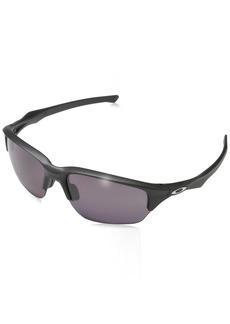 Oakley Men's Flak Beta Polarized Iridium Rectangular Sunglasses  64 mm