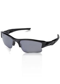 Oakley Men's Flak Jacket Xlj Non-Polarized Iridium Rectangular Sunglasses  0 mm