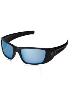 Oakley Men's Fuel Cell OO9096-D8 Polarized Wrap Sunglasses  60 mm