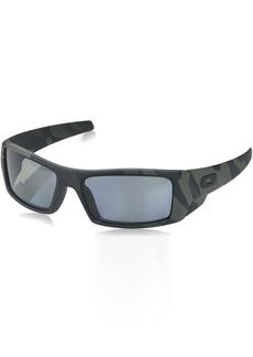 Oakley Men's Gascan Polarized Rectangular Sunglasses SI Multicam Black /Grey 60mm
