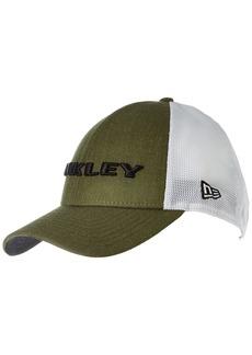 Oakley Men's Heather New Era Hat Dark One Size