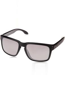 Oakley Men's Holbrook (a) Polarized Iridium Rectangular Sunglasses