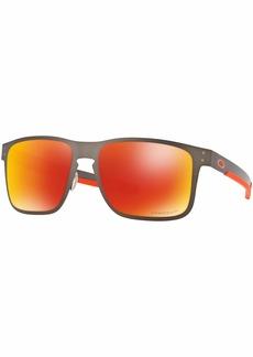 Oakley Men's OO4123 Holbrook Metal Square Sunglasses  55 mm