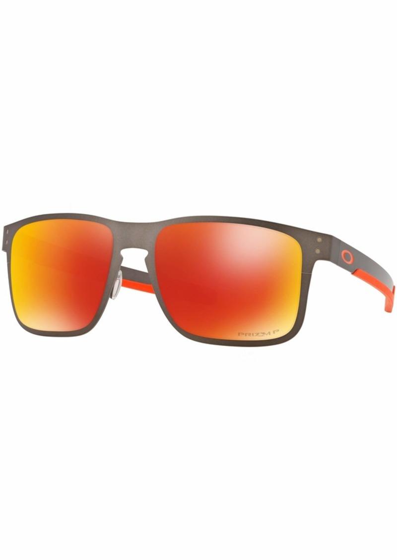 Oakley Men's Holbrook Metal Polarized Square Sunglasses  55 mm