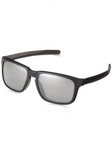Oakley Men's Holbrook Mix (a) Polarized Iridium Rectangular Sunglasses