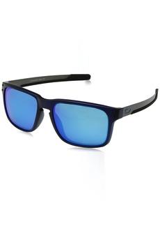 Oakley Men's Holbrook Mix Non-Polarized Iridium Rectangular Sunglasses  57.0 mm