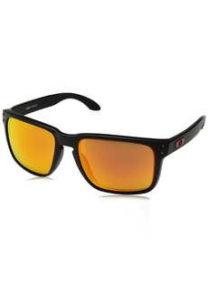 Oakley Men's Holbrook XL Non-Polarized Iridium Square Sunglasses Matte Black 59.0 mm