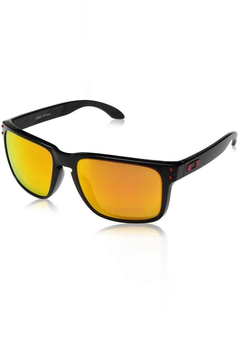 Oakley Men's Holbrook XL Polarized Iridium Square Sunglasses  59.0 mm