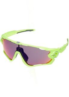 Oakley Men's Jawbreaker Non-Polarized Iridium Rectangular Sunglasses  31 mm
