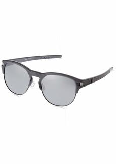 Oakley Men's Latch Key Non-Polarized Iridium Round Sunglasses  55.0 mm
