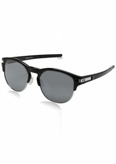 Oakley Men's Latch Key Polarized Iridium Round Sunglasses