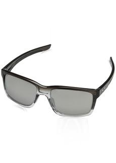 Oakley Men's Mainlink Non-Polarized Iridium Rectangular Sunglasses   mm
