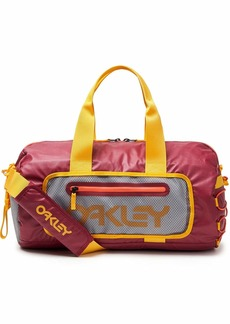 Oakley Mens Men's 90's Small Duffle Bag SUNDRIED TOMATO