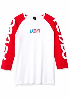 Oakley Mens Men's Americana Baseball TEE