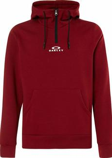 Oakley Mens Men's BARK Half Zip Hoodie Iron RED