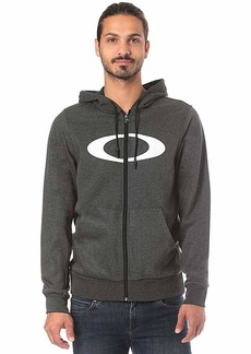 Oakley Mens Men's Ellipse FZ Hoodie Blackout LT HTR M