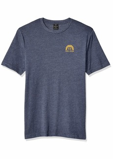 Oakley Mens Men's FHR Tribute TEE Foggy Blue HTHR L