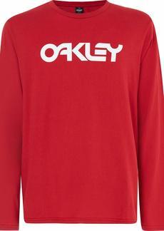 Oakley Mens Men's Mark II L/S TEE Samba RED