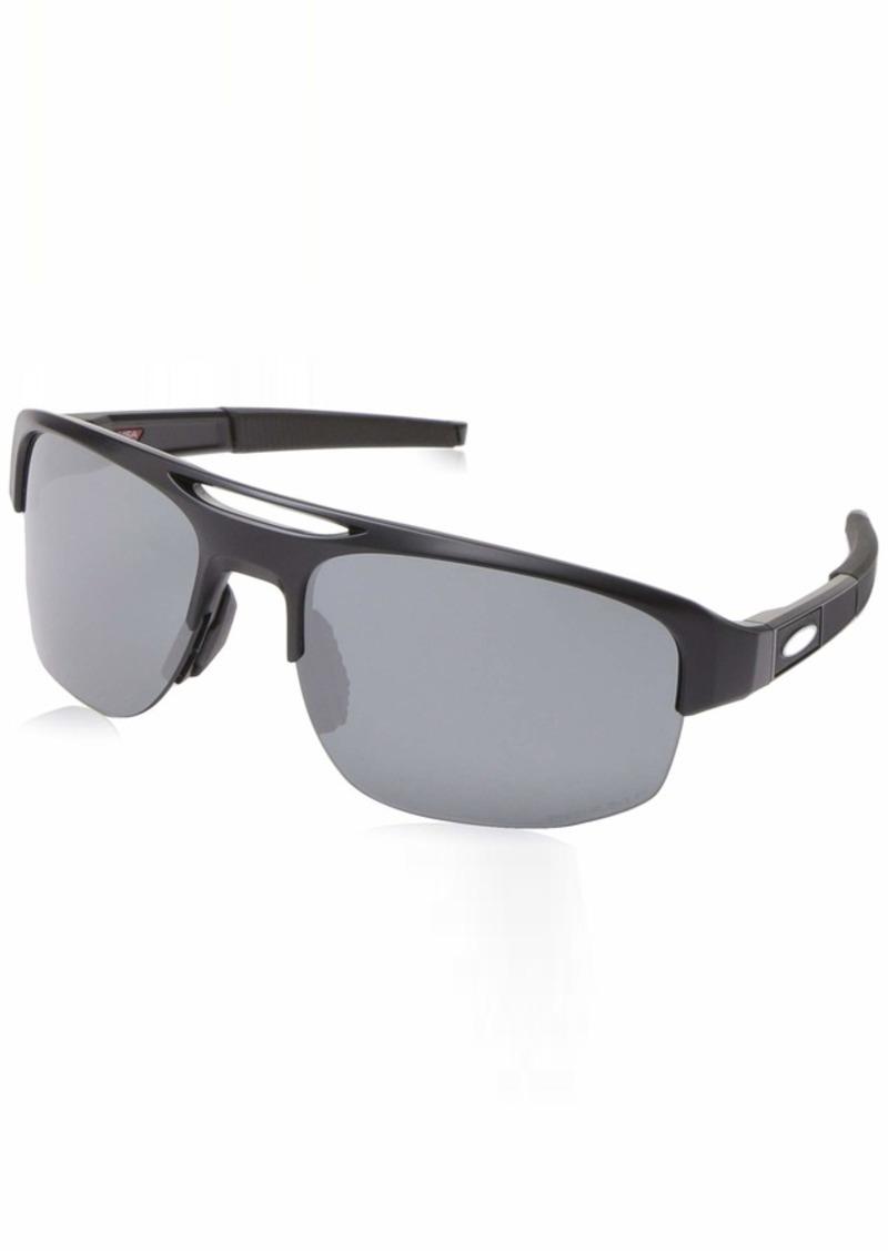 Oakley Men's Mercenary Polarized Rectangular Sunglasses  70 mm