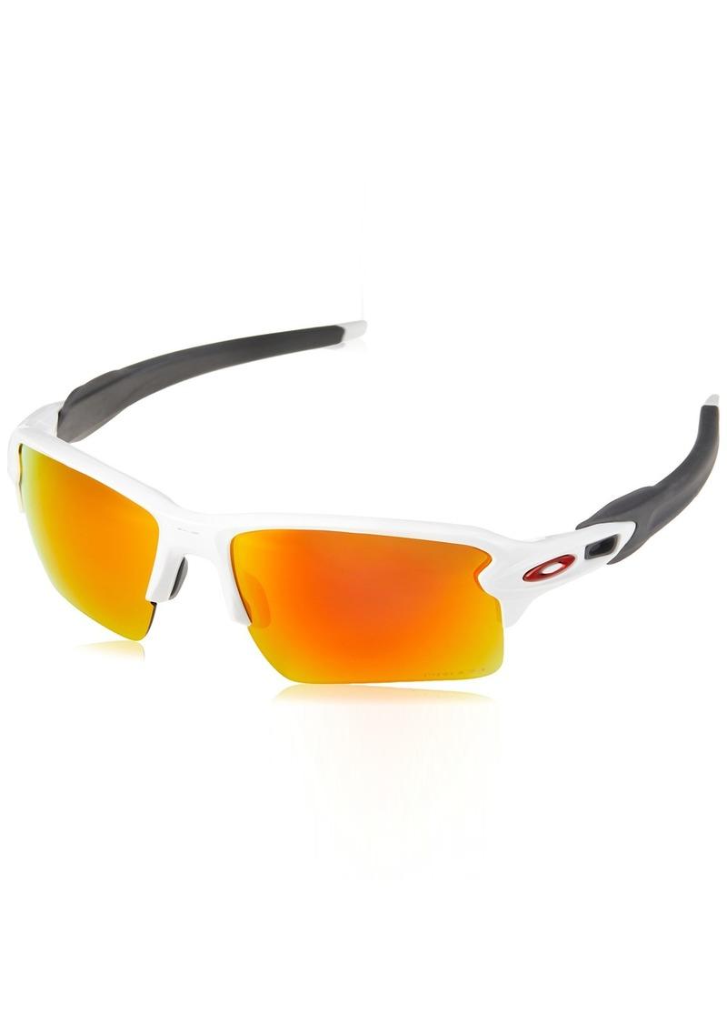 Oakley Men's OO9188 Flak 2.0 XL Rectangular Sunglasses  59 mm