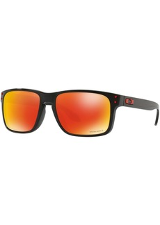 Oakley Men's OO9244 Holbrook Asian Fit Rectangular Sunglasses  56 mm
