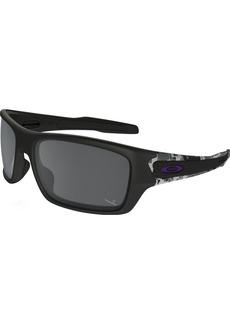 Oakley Men's OO9263 Turbine Rectangular Sunglasses  63 mm