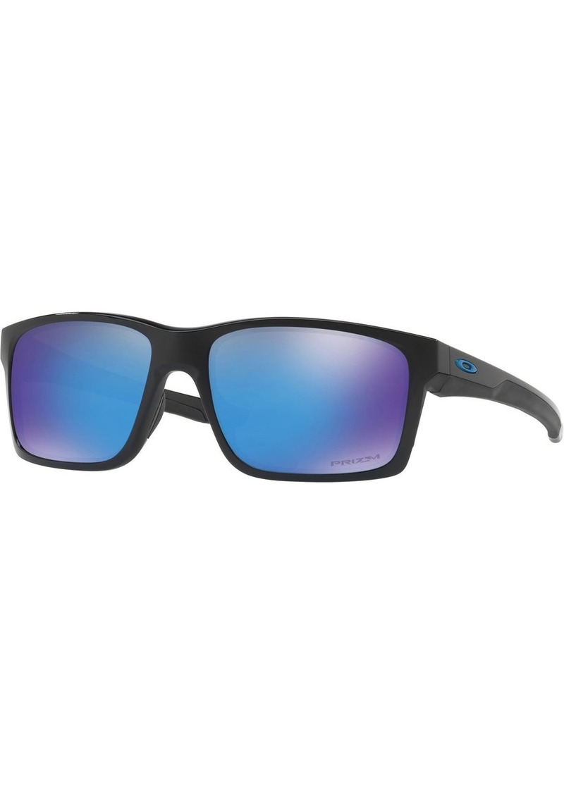 Oakley Men's OO9264 Mainlink Rectangular Sunglasses  57 mm