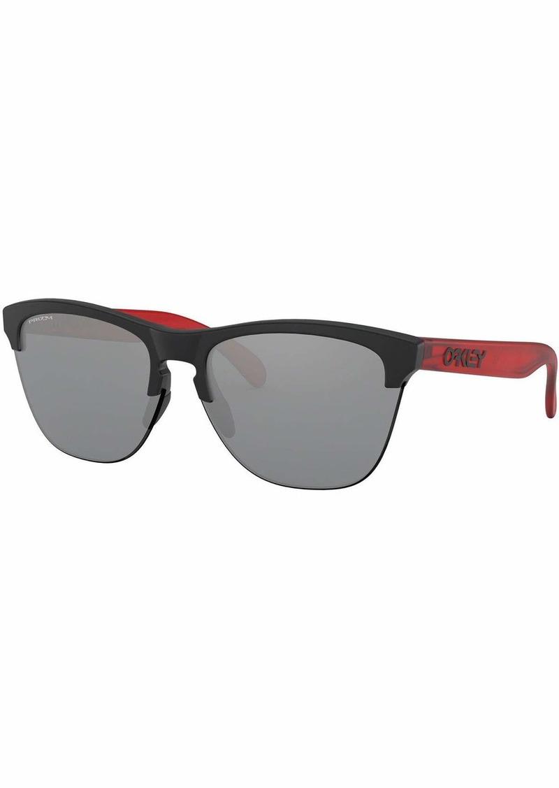 Oakley Men's OO9374 Frogskins Lite Round Sunglasses  63 mm