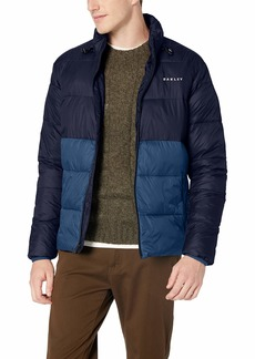 Oakley Men's Puffer Block Color Utility Jacket